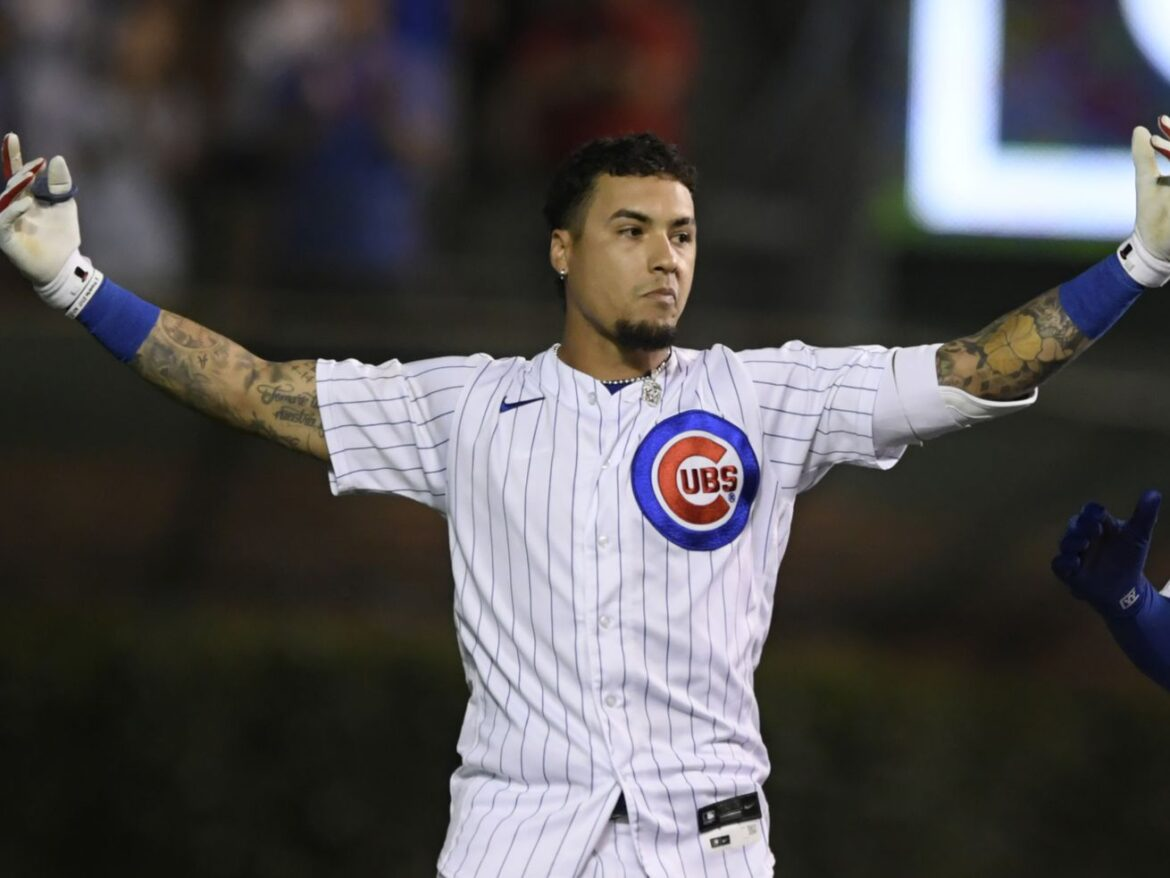 Javy Baez (left heel) out of Cubs' starting lineup for third straight day