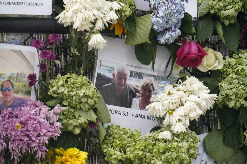Collapsed condo: Weighing how to honor dead at 'holy site'