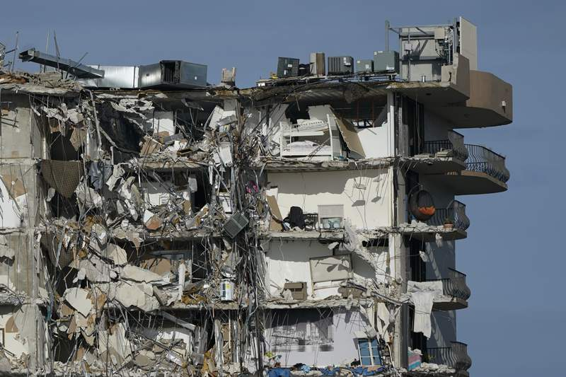 Collapse survivors escaped with their lives, but little else