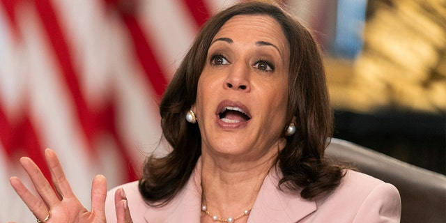 Harris says Democrats who fled Texas 'in line' with legacy of Frederick Douglass, Selma marchers, suffragettes