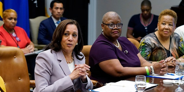 Harris visits Walter Reed for 'routine' doctor appointment days after meeting with infected Texas Democrats