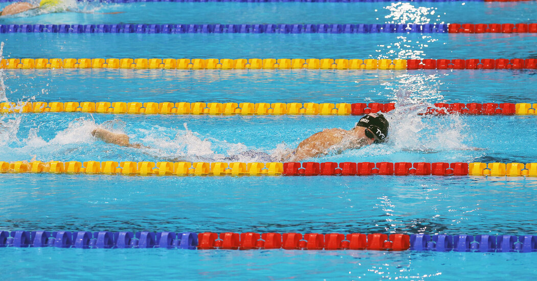 Katie Ledecky Wins Gold in the 800-M Free