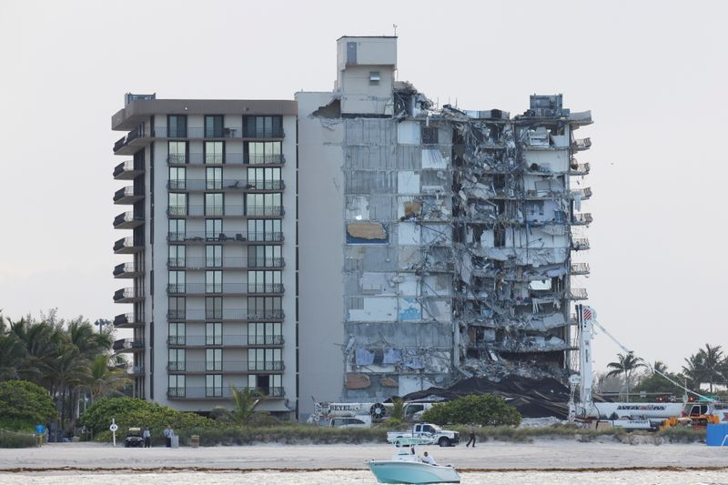 Where the Surfside condo once stood, debate begins over what comes next