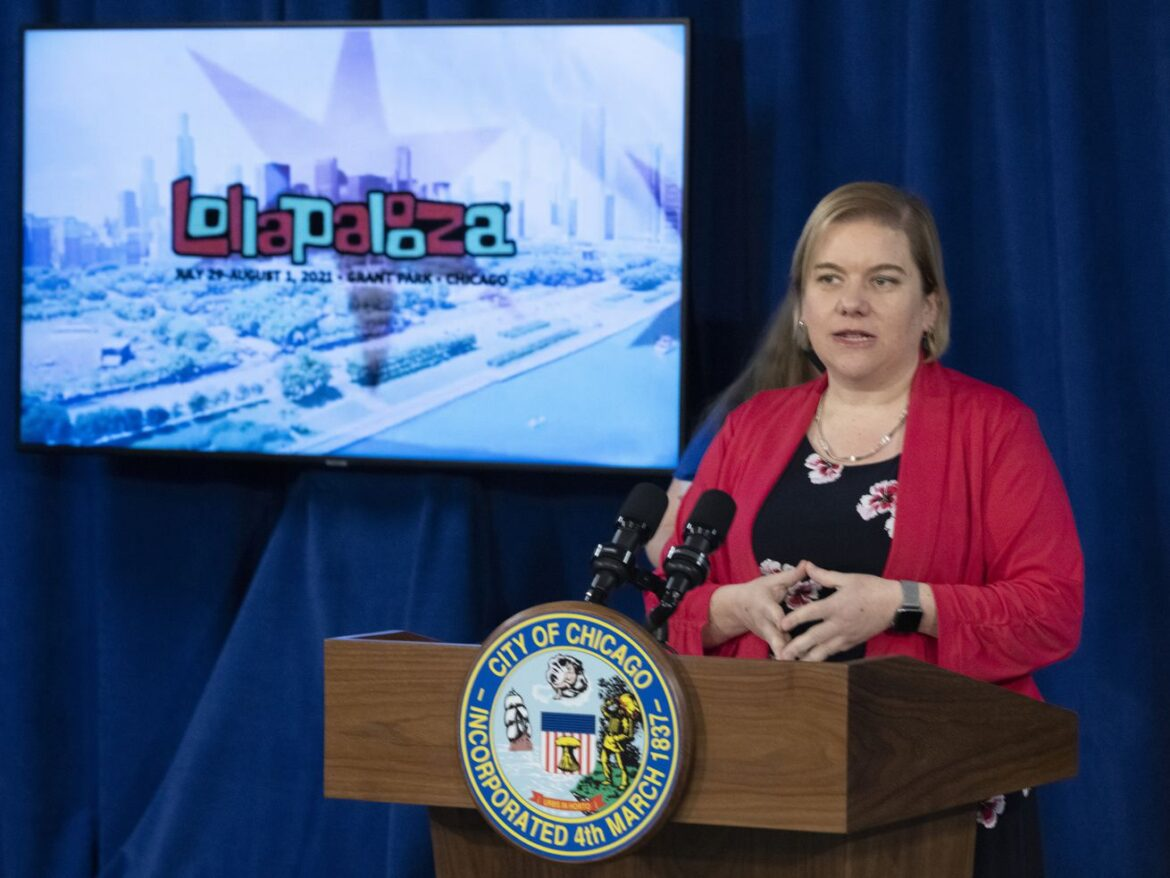 Lollapalooking good? Despite case spike, Chicago in 'good control' heading into music festival, city's top doc says