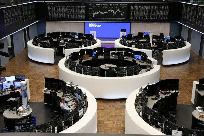 Travel stocks drag Europe lower, inflation woes mount