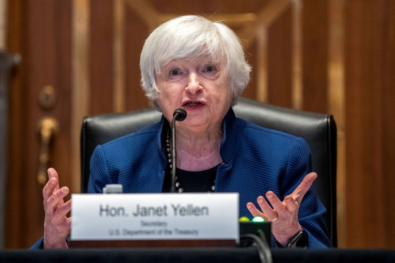 Yellen urges quick U.S. adoption of stablecoin rules