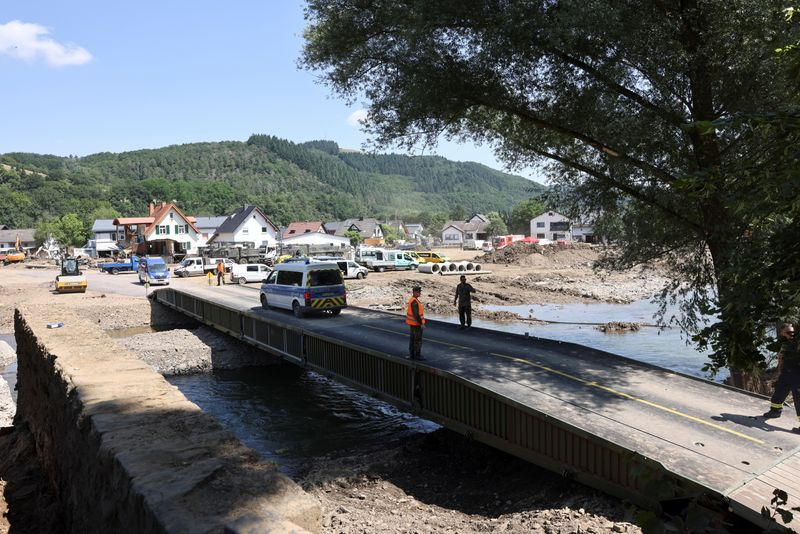 Insured losses from western German floods may total 4-5 billion euros – trade body