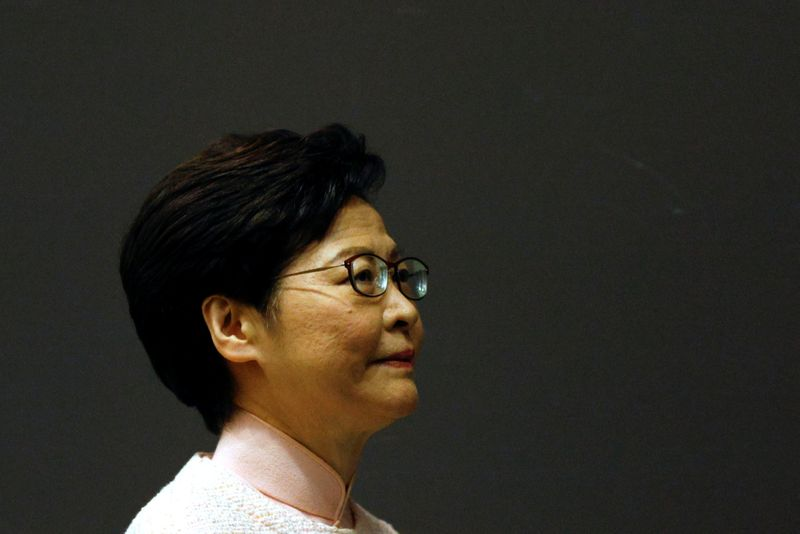 Hong Kong leader says privacy law changes will only target illegal behaviour