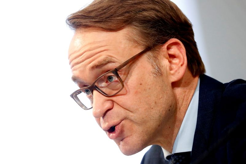 New ECB policy will not try to make up for lost inflation: Weidmann