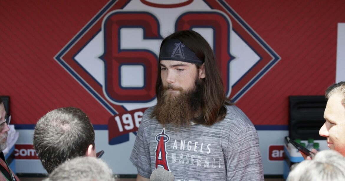 Angels' Brandon Marsh finally got the call, even if he missed it at first