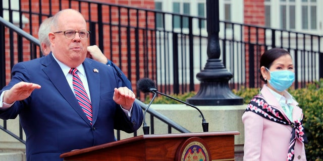 Maryland Gov. Larry Hogan backs Cheney in fight with McCarthy, House GOP over Jan. 6: report