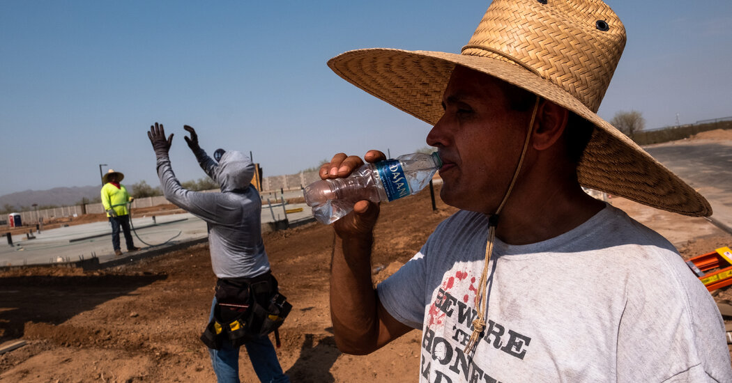 Health Tips for Coping With Extreme Heat