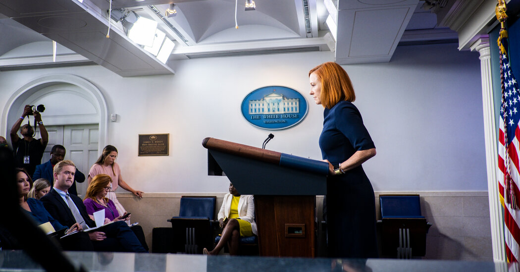 Vaccine Mandate Is Not the Federal Government's Role, Psaki Says
