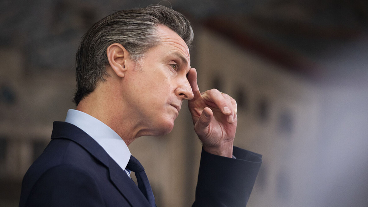 Gavin Newsom will not be listed as a Democrat in upcoming California recall vote