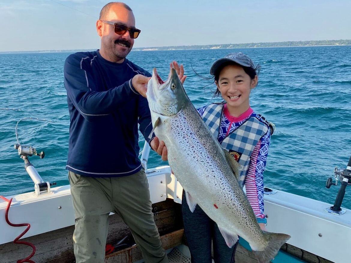 Really big brown trout: Audrey Morgan earns Fish of the Week on family outing