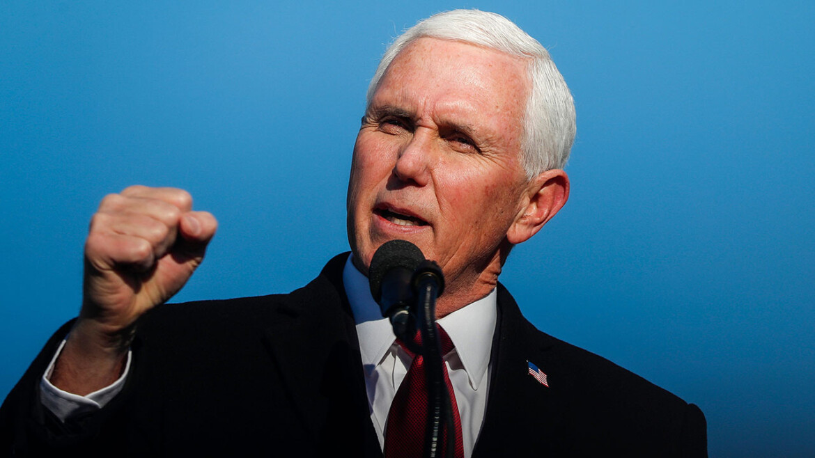 Pence accuses Biden administration of 'rolling over' for China, says corporate America enables regime