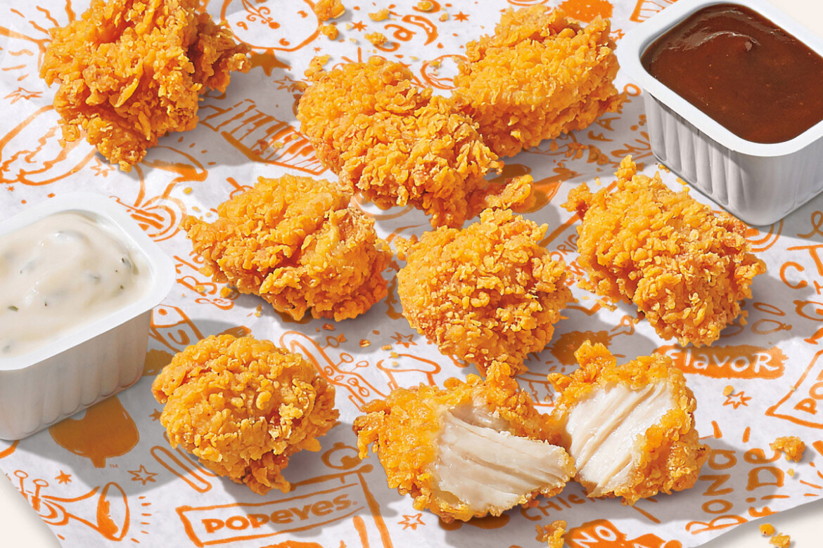 Popeyes is stockpiling chicken amid nationwide shortages, price hikes