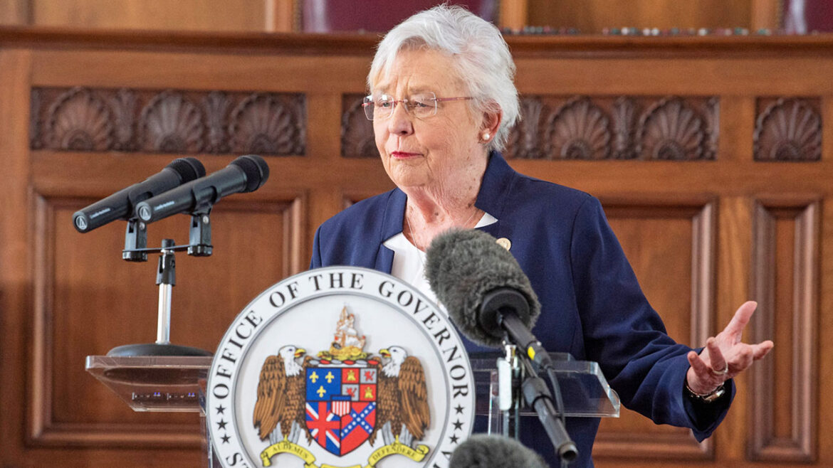 Republican Alabama Gov. Kay Ivey pleads for residents to get vaccinated