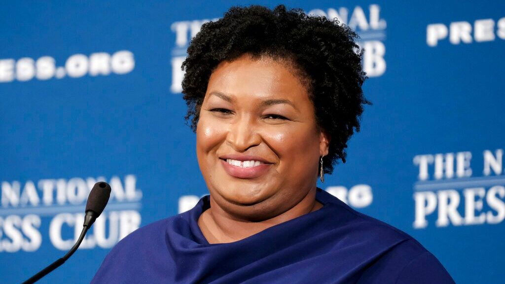 Runaway Texas Democrats in DC get pep talks from Stacey Abrams, the Clintons