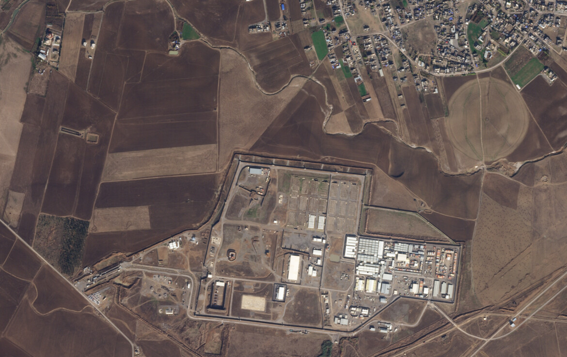 Drone hits in vicinity Iraq air base in Erbil where US troops are stationed