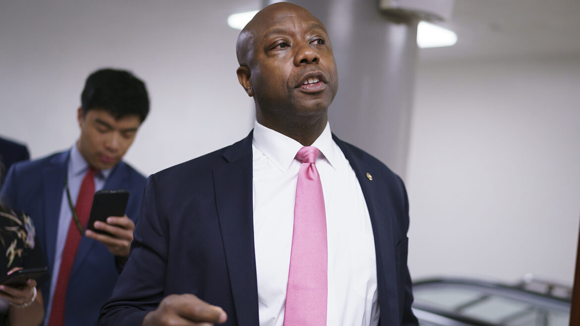 Sen. Tim Scott warns of the 'one thing you cannot do' in passing police reform