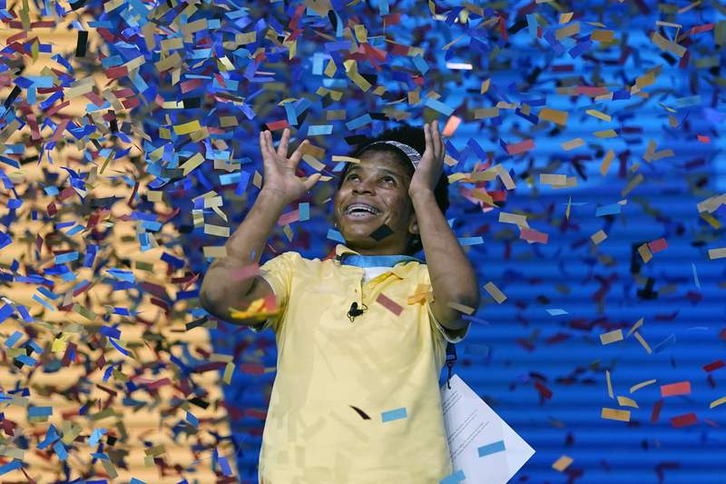 First African American spelling bee champ breezes to win