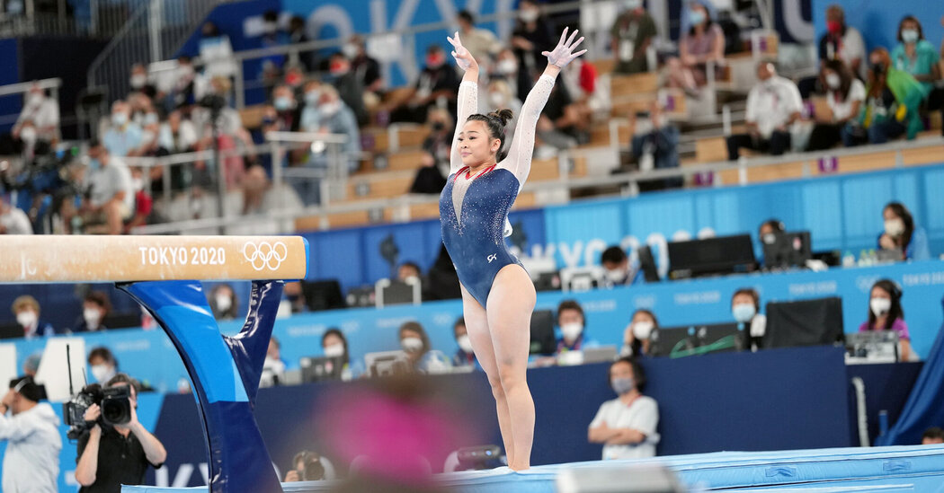 Suni Lee Wins the All-Around Gold Medal in Olympic Gymnastics