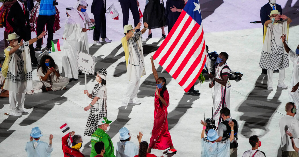 Telfar Clemens Designs Liberia's Olympic Outfits