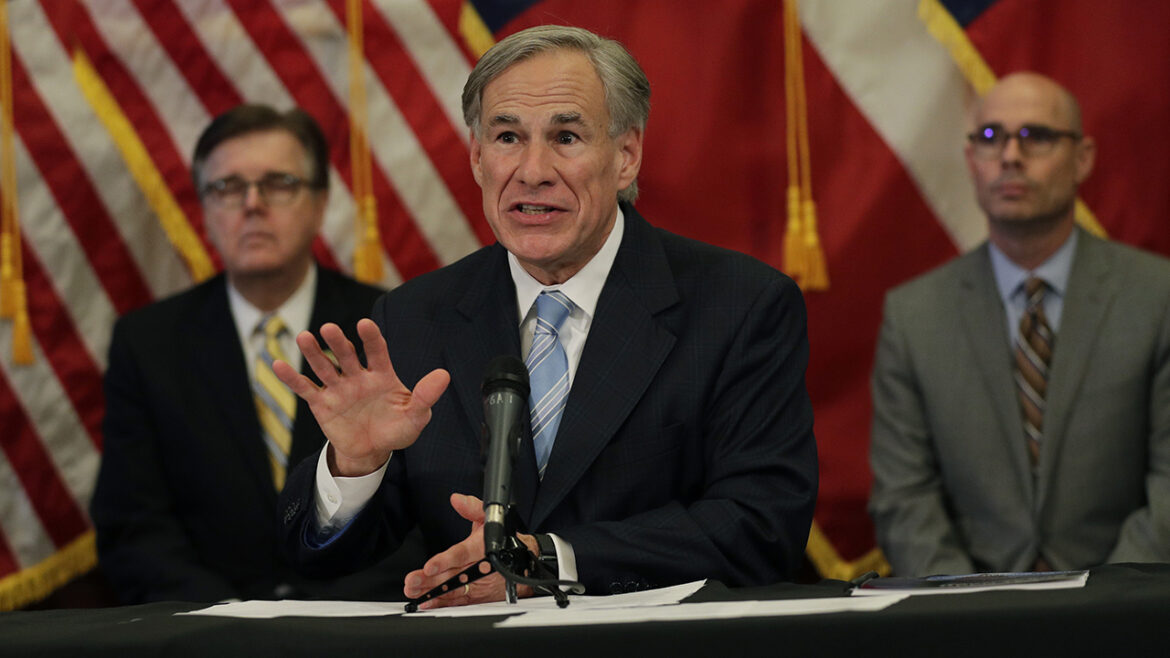Texas Gov. Abbott bans ground transport of potentially infected migrants into communities