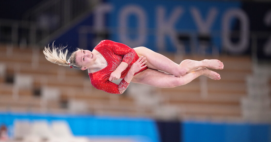 The Triple-Twisting Double Layout? Jade Carey Could Bust Out Tough Move