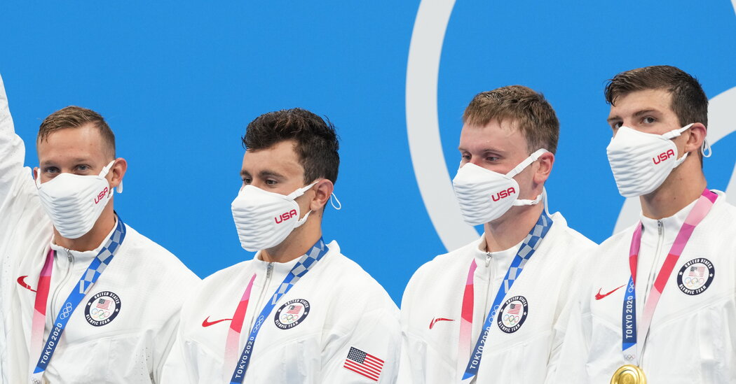 The US Olympic Podium Masks Might Haunt Your Dreams