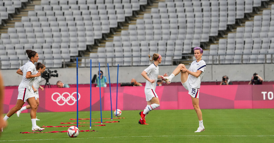 U.S. soccer looks for a rebound against New Zealand.