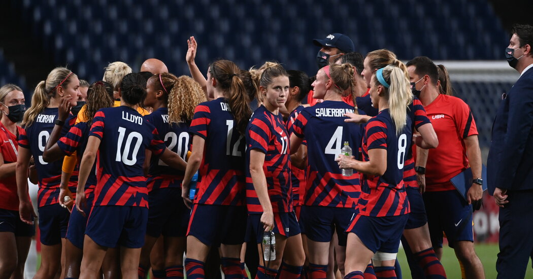 U.S. Women's Soccer Team Faces Netherlands in Olympic Quarterfinals