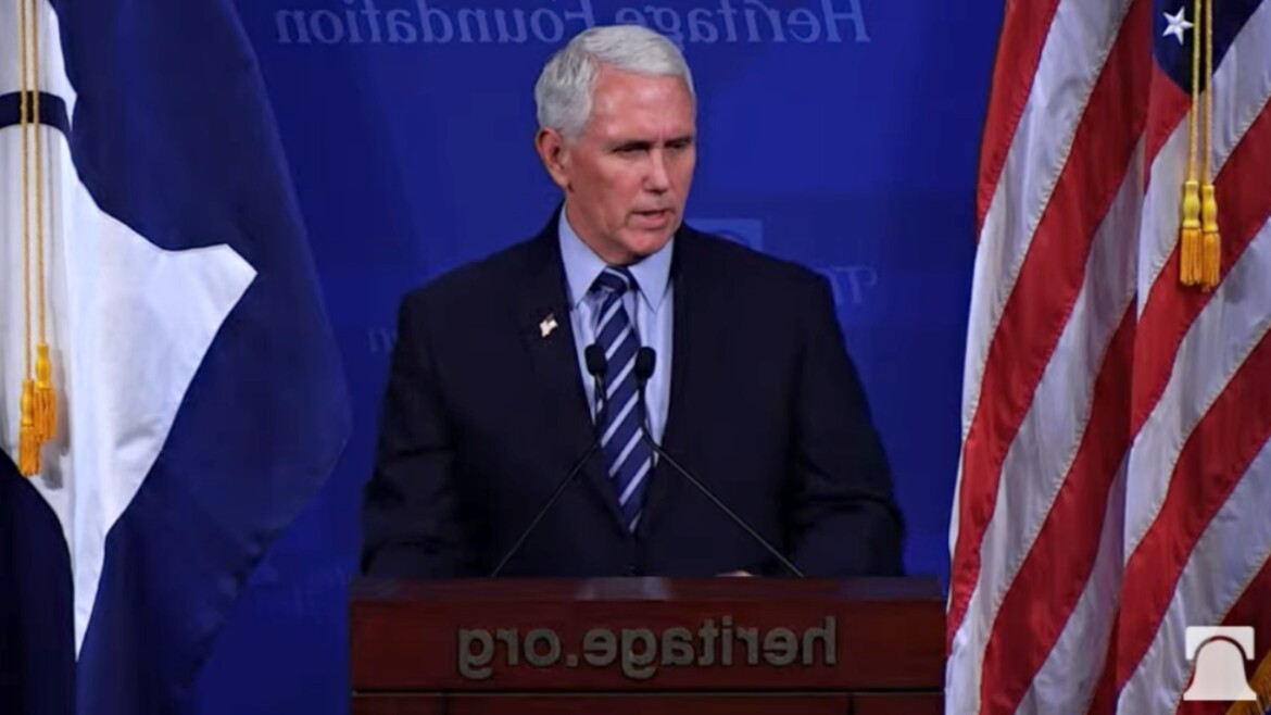 Pence calls on Biden to demand Olympics move out of Beijing until China offers transparency on COVID-19