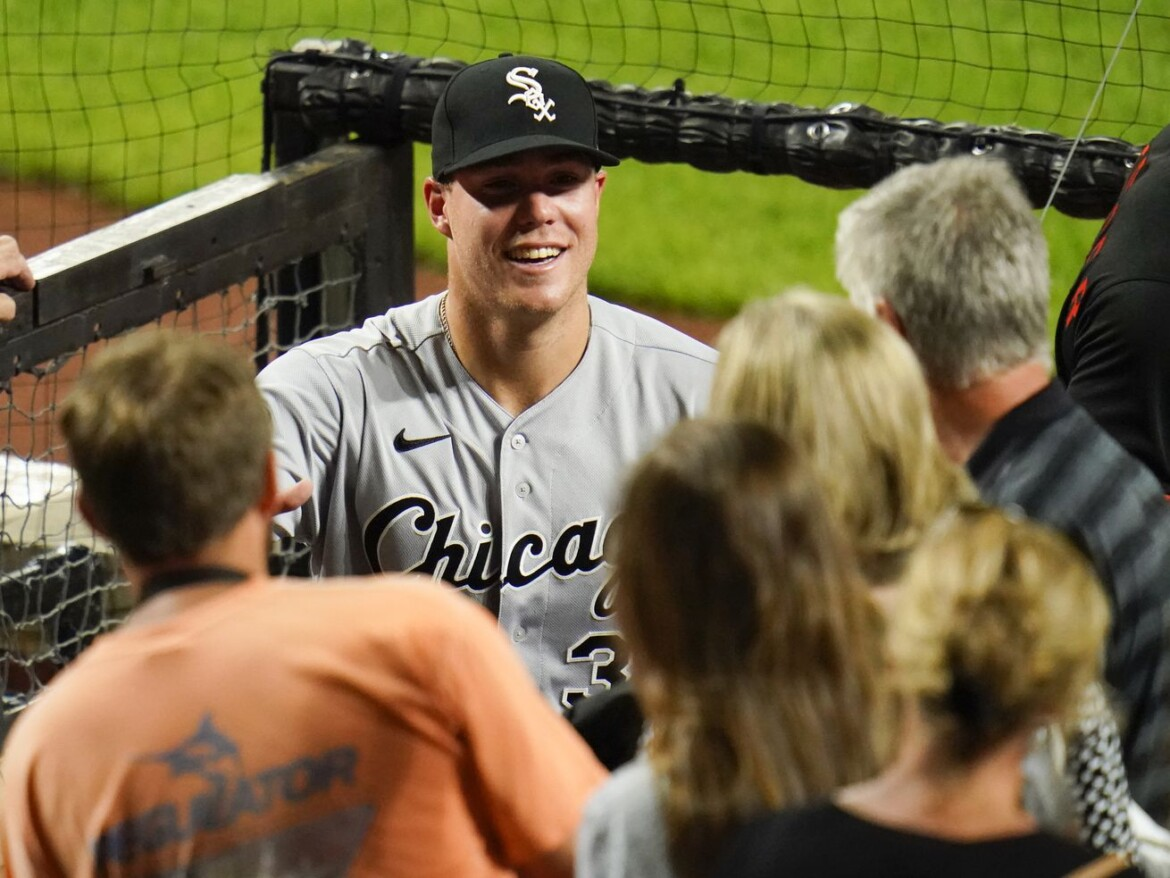 Welcome home (run): White Sox rookie Gavin Sheets goes deep in homecoming game