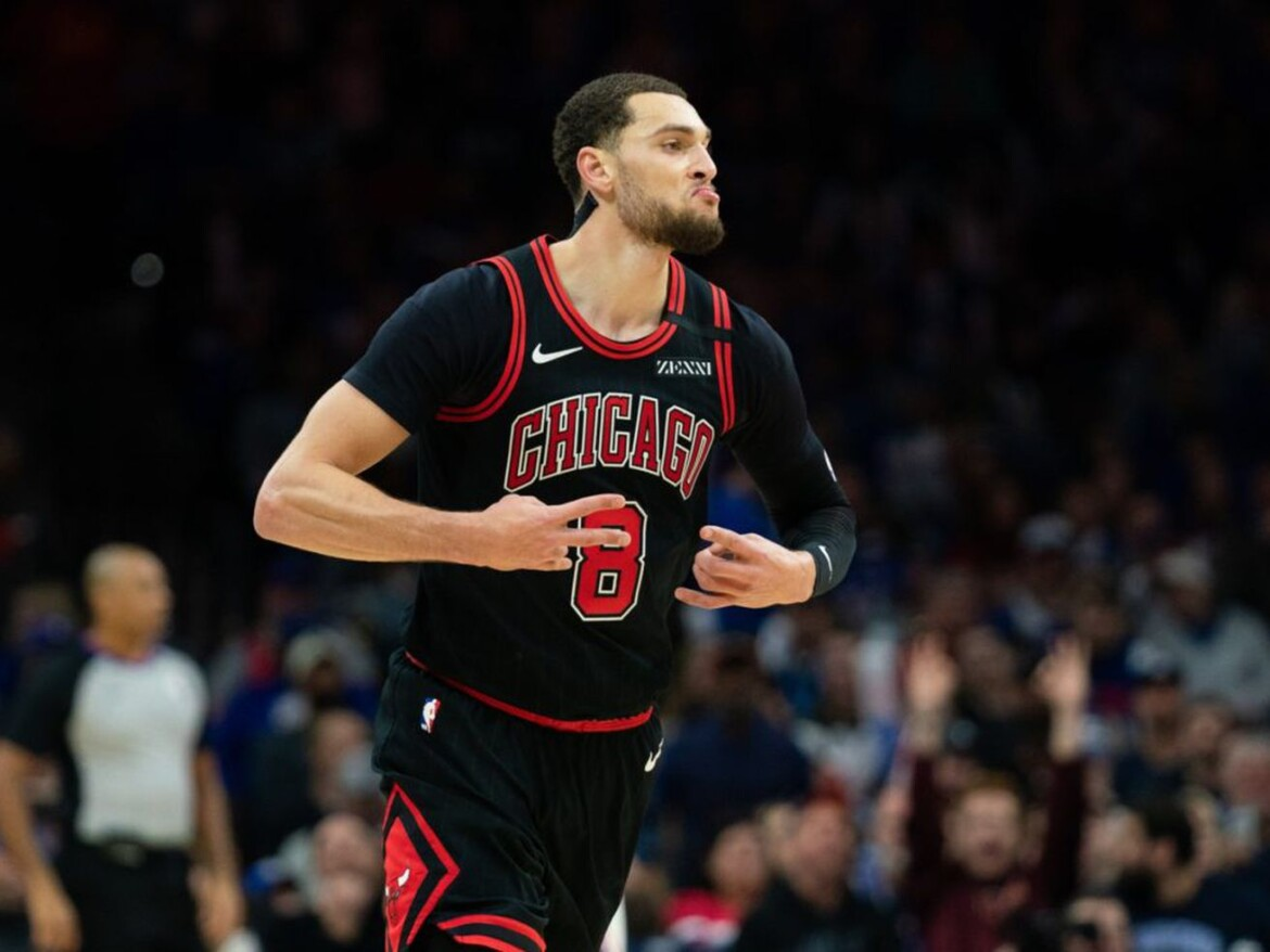 Bulls guard Zach LaVine is chasing the gold standard of greatness