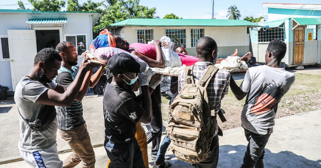 'I'm the Only Surgeon': After Haiti Quake, Thousands Seek Scarce Care