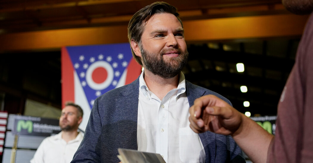 J.D. Vance Converted to Trumpism. Will Ohio Republicans Buy It?