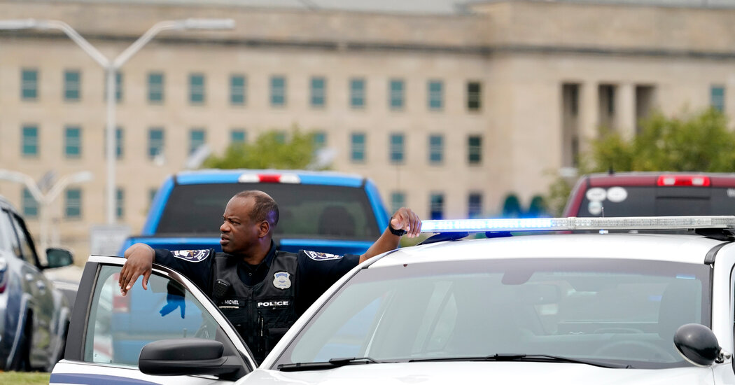 Pentagon Provides Update On Shooting