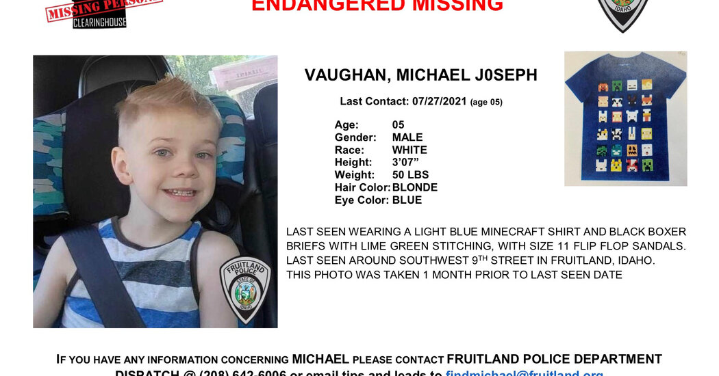 Idaho Town Is Upended in Search for Missing Boy: 'We Are All In'
