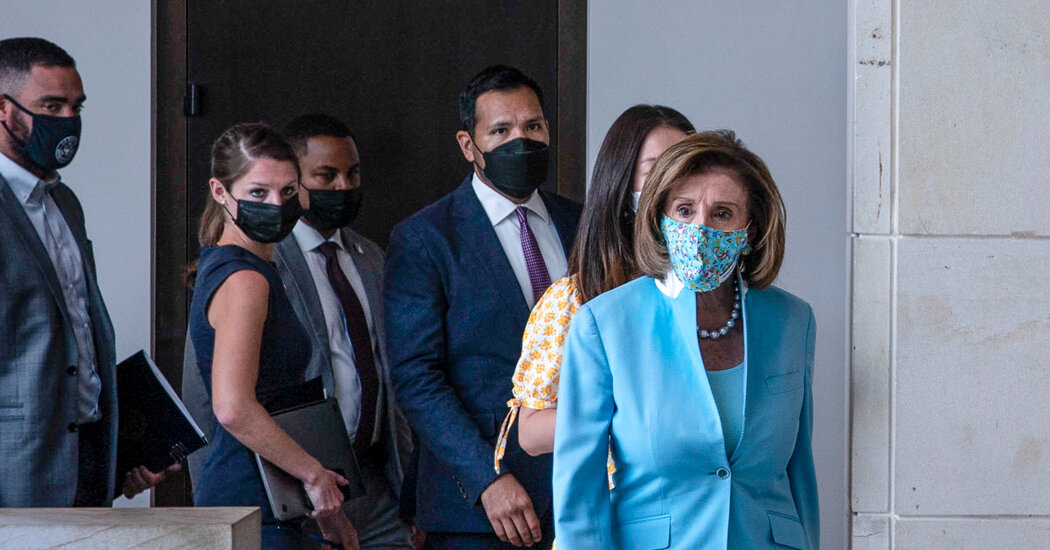 Pelosi Says House Will Raise Maximum Pay for Capitol Hill Aides