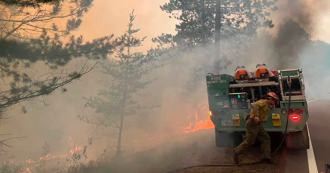 Minnesota's Greenwood Fire 'Like a Freight Train,' Officials Say