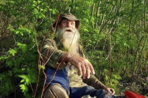 After decades in woods, New Hampshire man forced from cabin