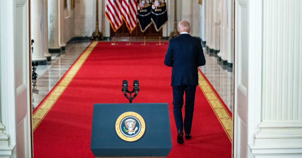Biden Plays the Long Game as He Justifies the End of the 'Forever War'