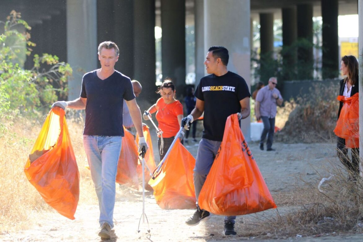 Governor comes to Long Beach to tout cleanup program