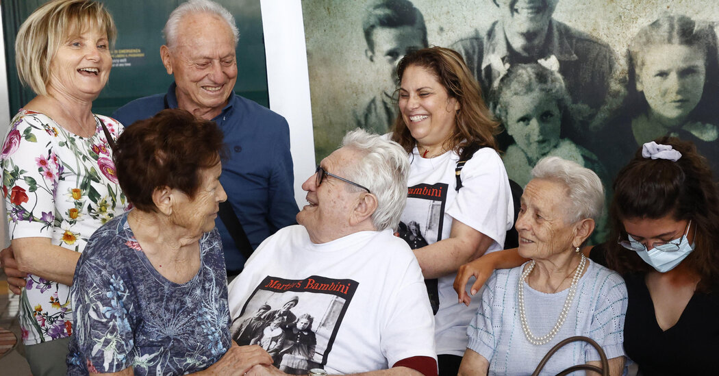 American Vet Returns to Italy to Greet 'Bambini' He Last Saw in 1944