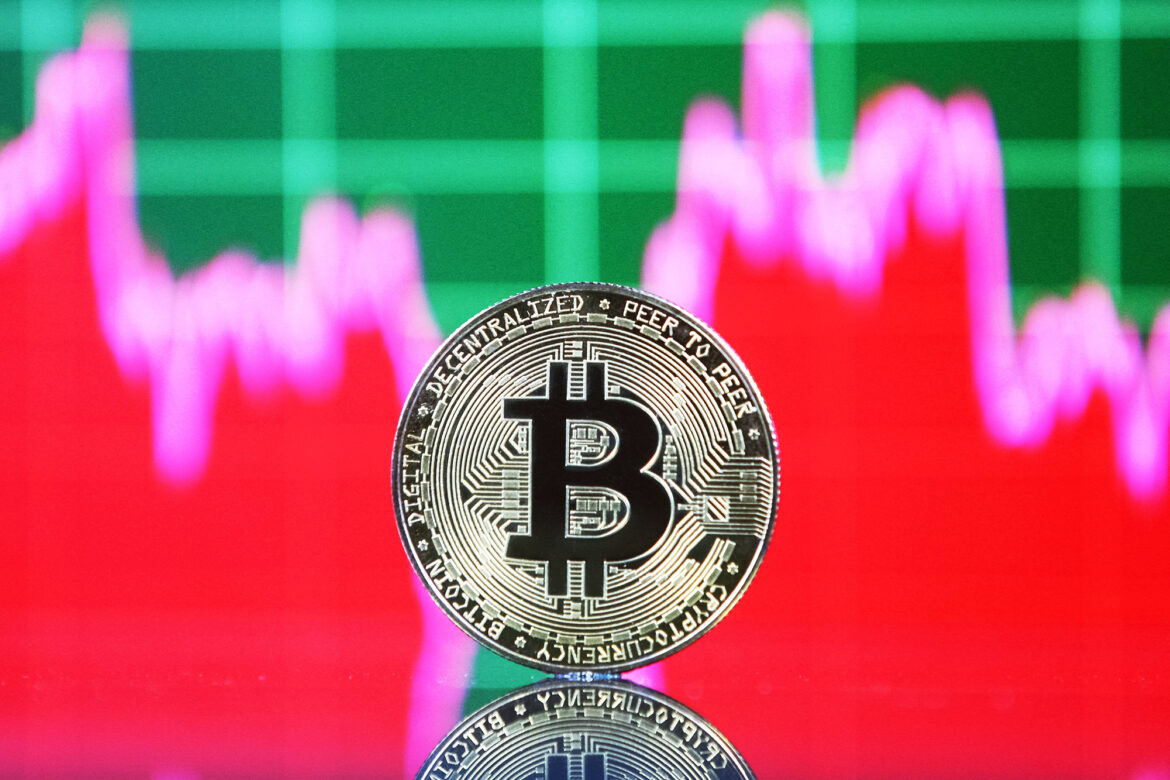 Bitcoin falls 5 percent after weekend rally above $42K