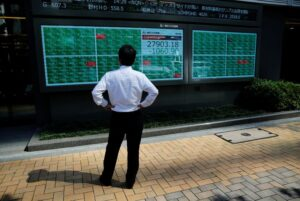 Foreign outflows from Asian equities surge in July on virus worries