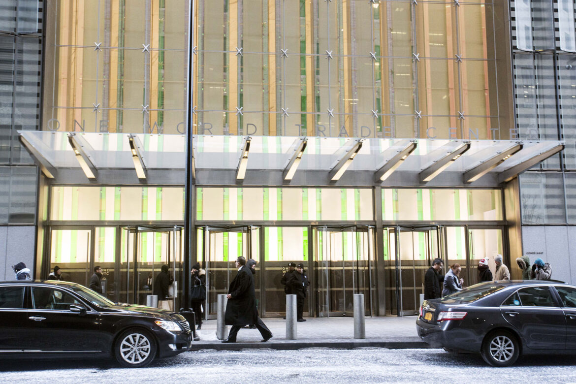 One World Trade Center reaches deal for entire floor