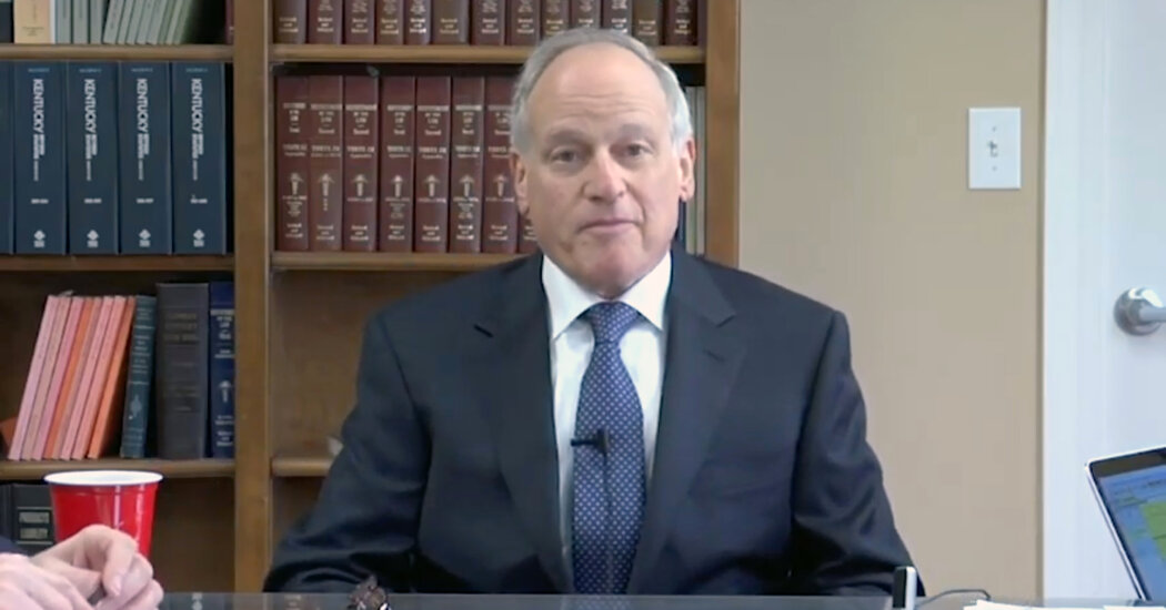 Richard Sackler Says Family and Purdue Bear No Responsibility for Opioid Crisis